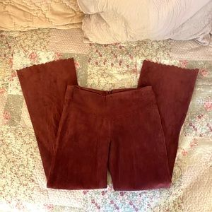Rare, sexy suede  Arden B pants!